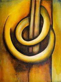 Acrylmalerei, Sand, Abstrakt, Malerei