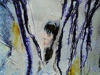 Struktur, Mischtechnik, Malerei, Abstrakt