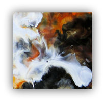 Malerei, Abstrakt, Enkaustik