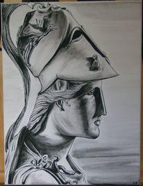 Athena, Malerei