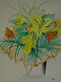 Gelb, Blumen, Lachen, Licht