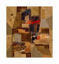 Digitale kunst, Surreal, Elementen, Collage