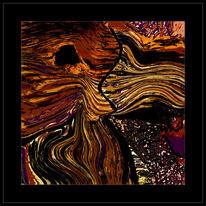 Digitale kunst, Abstrakt, Geheimnis