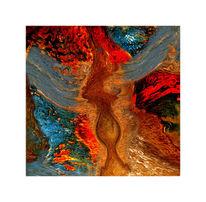 Digitale kunst, Surreal, Feuervogel