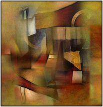 Digitale kunst, Abstrakt, Oase