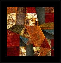 Digitale kunst, Abstrakt, Puzzle, Struktur