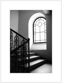 Fotografie, Geländer, Fenster
