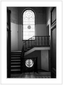 Fotografie, Fenster, Treppenhaus
