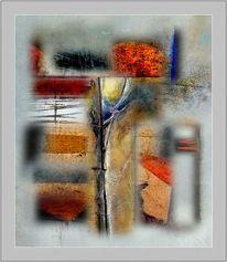 Digitale kunst, Abstrakt, Verlust, Mitte