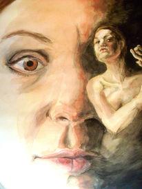 Gesicht, Körper, Akt, Portrait