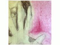 Hand, Portrait, Raum, Zeichnung