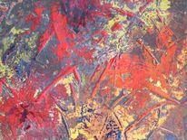 Hummer, Krebs, Malerei, Abstrakt