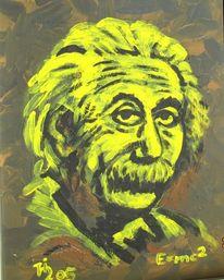 Kopf, Wissen, Augen, Malerei