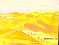 Sand, Wind, Sonne, Malerei