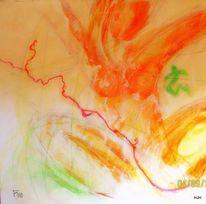Akt, Zypern, Frau, Malerei