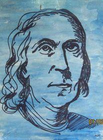 Freimaurer, Diplomat, Erfinder, Malerei