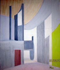 Architektur, Farben, Formen, Malerei