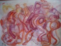 Chaos, Krieg, Kampf, Malerei