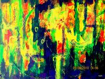 Geist, Schamane, Urwald, Malerei