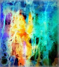 Malerei, Waldbrand