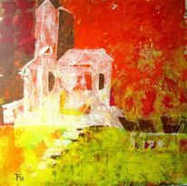 Berge, Kapelle, Kirche, Malerei