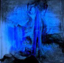 Figur, Gebet, Körper, Malerei