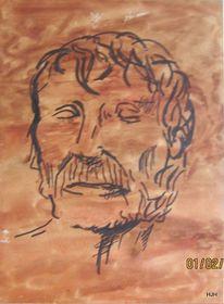 Philosoph, Lehrer, Korsika, Malerei
