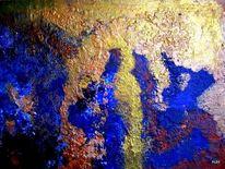 Gold, Blau, Kupfer, Malerei