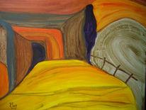 Orakel, Rätsel, Abgrund, Malerei