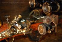 Viktorianisch, Schlesier, Brille, Uhrwerk