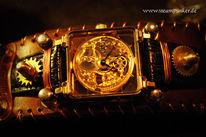 Zeit, Uhrwerk, Handaufzug, Steampunk