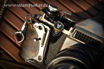 Fotografie, Kamera, Steampunk, Spiegelreflexkamera