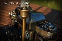Kamera, Steampunk, Fotografie, Spiegelreflexkamera