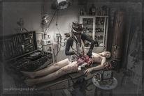Halloween, Knochen, Plaguedoctor, Aufbrechen
