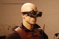 Uhrwerk, Brille, Cyber, Punk