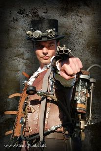 Hut, Steampunk, Uhrwerk, 2011