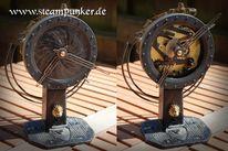 Uhrwerk, Steampunk, Schlesier, Uhr