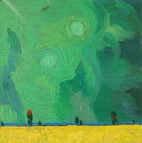 Dimetra, Oil pictures, Iserlohn, Ölmalerei