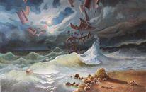 Deutschland, Iserlohn, Ölmalerei, Oil picture