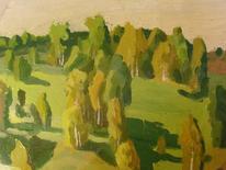 Wand, Iserlohn, Landschaftsbild öl, Malerei