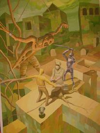 Vermächtnis der tempelritter, Kunst nrw walldimitri, Kunst in iserlohn, Malerei
