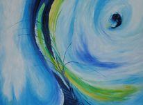 Kreislauf, Ölmalerei, Verbindung, Leben