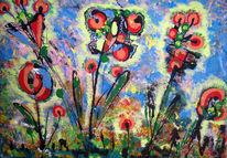 Gesetz, Natur, Malerei, Abstrakt