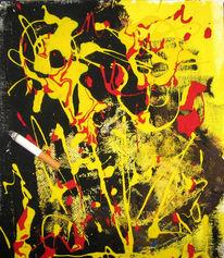 Entspannend, Malerei, Abstrakt