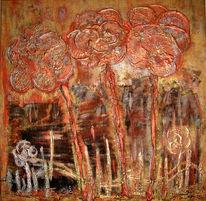 Malerei, Abstrakt, Mars