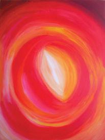 Warm, Energie, Rot, Malerei