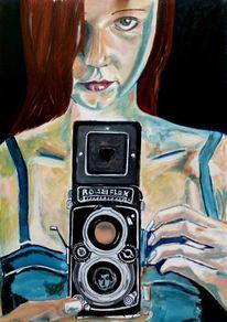 Gesicht, Kleid, Frau, Fotoapparat