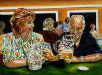 Bier, Freude, Menschen, Bayer