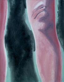 Knie, Weiblich, Frau, Bein