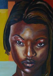Weiblich, Portrait, Dunkelhäutig, Gesicht